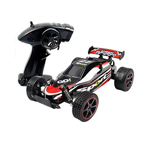 SZJJX RC Cars Rock Off-Road Vehicle Crawler Truck 2.4Ghz 2WD High Speed 1:20 Radio Remote Control Racing Cars Electric Fast Race Buggy Hobby Car (Red)