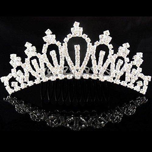 Niña Princesa Niño Crystal Rhinestone accesorio para el pelo accesorios para el cabello accesorios peine corona