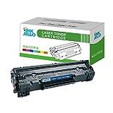 Inkjello cartuccia toner di ricambio per HP LaserJet Pro M1132MFP M1212nf M1214NFH M1217nfw P1100P1102P1102W P1104P1104W CE285A/crg-725(nero)