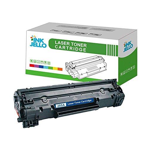 inkjello Kompatibler Toner Ersatz für HP Laserjet Pro M1132MFP M1212NF M1214Nfh M1217NFW P1100P1102P1102W P1104P1104W CE285A/crg-725(schwarz)