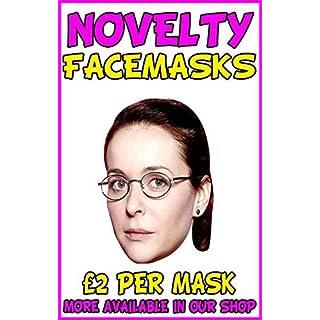 Ab Fab Saffy Novelty Celebrity Face Mask Party Mask Stag Mask