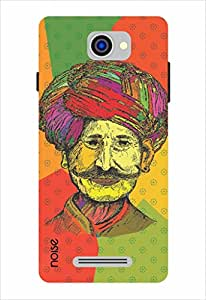 Noise Colored Turban Man Printed Cover for Panasonic P55