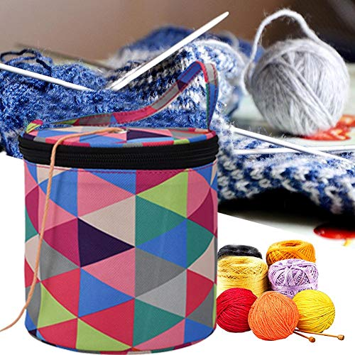 Welltobuy Bolsa Crochet Bolsa De Labores De Punto