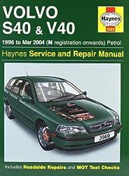 Volvo S40 and V40 Petrol: 1996-2004 (Haynes Service and Repair Manuals)