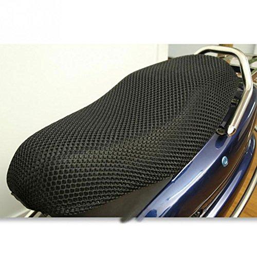 GEZICHTA 3D moto sedile cuscino Pad, 3D bici elettrica net coprisedili raffreddamento Protector durevole nero, xxxl 96x55cm