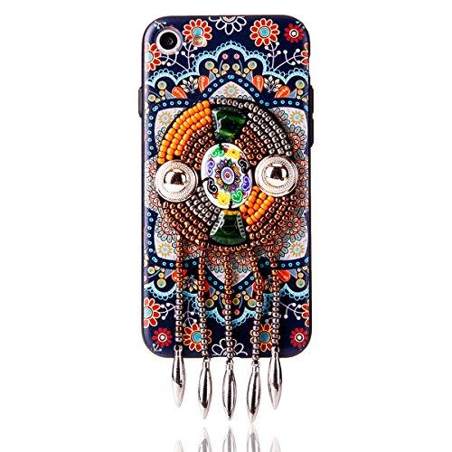 """iPhone 6s Hülle, iPhone 6 Handytasche CLTPY Premium Weich Silikon Case, Luxury Bunt Vintage Jewelry Handmade Schale Etui für 4.7"""" Apple iPhone 6/6s + 1 x Stift - Retro Totem 3 Retro Totem 3"""