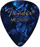 Fender 098-2351302351Shape Premium Picks Medium Blue Moto, 144Count