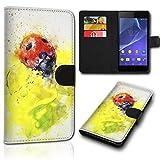 Book Style Alcatel One Touch Go Play 7048X Tasche Flip Brieftasche Handy Hülle Kartenfächer für Alcatel One Touch Go Play 7048X - Design Flip SVH178
