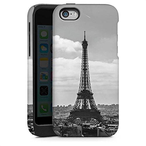 Apple iPhone 5s Housse étui coque protection Paris France Tour Eiffel Cas Tough brillant