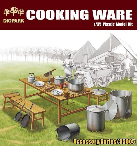 DioPark (diode Park) 1/35 scale [35005] cookware set (japan import)