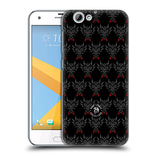 Official Anne Stokes Tribal Dragon Head Motif Patterns Hard Back Case for HTC One A9s