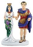 Summit Egipcio Cleopatra con Mark Antony Figura Decorativa