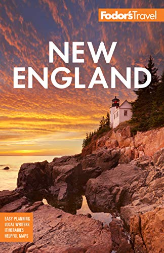 Fodor's New England: with the Best Fall Foliage Drives & Scenic Road Trips (Full-color Travel Guide Book 33) (English Edition)