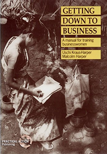Getting Down to Business: A Training Manual for Businesswomen by Uschi Kraus-Harper (1992-01-01)