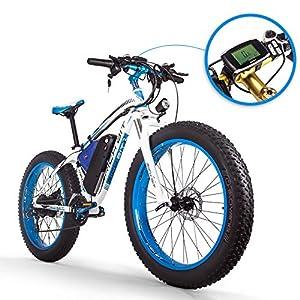 RICH BIT RT012 E-Bike Elektrisches Fahrrad 26 Zoll 4.0 Fat Reifen Snow Bike Elektrisches Fahrrad ebike 1000W Hochleistungsmotor 48V*17Ah Hochleistungs Lithium Batterie Hohe Lebensdauer 21 Geschwindigk