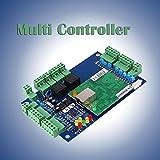 Hanbaili Wiegand 26 Bit TCP / IP Netzwerk-Zugangskontrolle Board Panel Control System Für 2 Tür 4 Reader