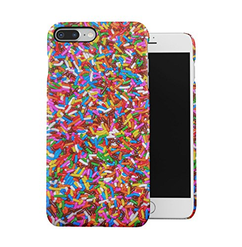 Sweet Candies Lollipops Cupcakes Pattern Apple iPhone 7 Snap-On Hard Plastic Protective Shell Case Cover Custodia Candy Sprinkles
