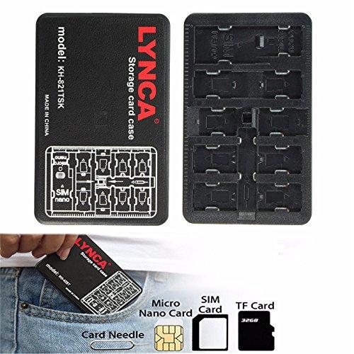 Preisvergleich Produktbild Tutoy Kh-821Tsk 11-Slots Nadel-Aufbewahrungsbehälter-Kasten-Halter-Schutz Für Sim Mikro-Nano TF-Karte