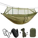 ZREAL Tenda da letto pensile da giardino per 2 persone a 2 posti per amaca all'aperto da campeggio ultraleggere