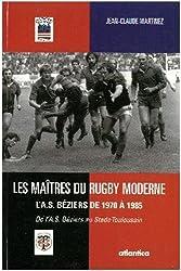 Les maitres du rugby moderne