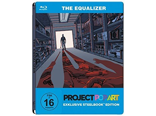 The Equalizer - Exklusiv PopArt Steelbook (streng limitierte Edition) [Blu-ray]