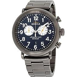 Shinola The Runwell Reloj de Hombre Cuarzo 47mm Correa de Acero 20062178