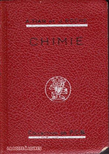 Precis de chimie, certificat d'etudes physiques, chimiques et biologiques, licence es sciences