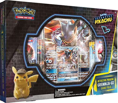 Pokémon POK80387 TCG: Detective Pikachu Greninja-GX