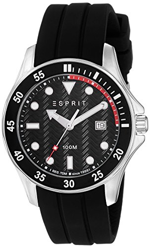 (Esprit Herren-Armbanduhr Man ES108831002 Analog Quarz)