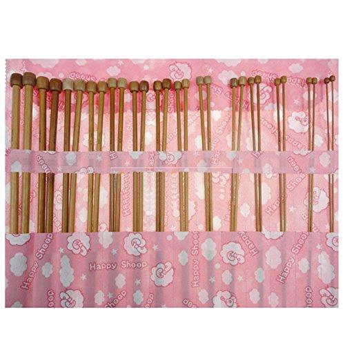 tenflyer-solo-punto-36-piezas-carbonizado-bambu-agujas-de-tejer-en-1-set