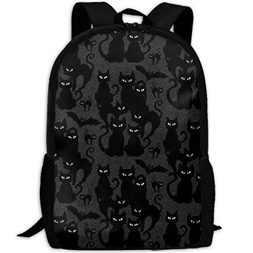 lloween Cats Eyes On YouCollege Bookbag,Shoulder Bag,Hiking Daypacks,Hiking Backpacks,Hiking Bags,Gym Bags, Sports Bag,Camping Bag,Weekend Bag, ()
