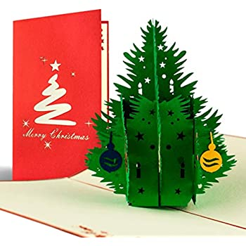 Gutschein Weihnachtsbaum.Weihnachtskarte Mit Umschlag Weihnachtsbaum Gutschein Klappkarte Edel Klassisch Besonders Christlich Hochwertig Adventskarte Geschenkidee