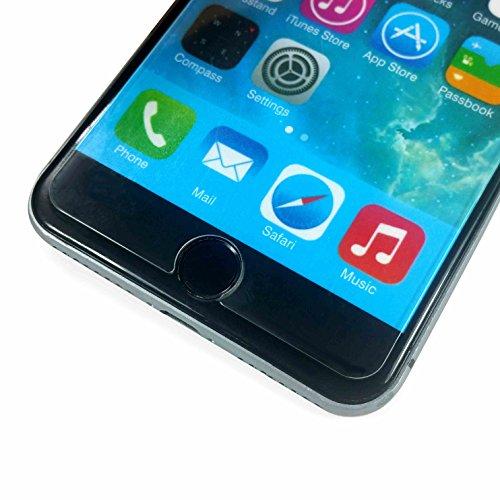 Tuff-Luv Radian 2.5D gehärteter Tuff-Glas Überzug für iPhone 7 - durchsichtig