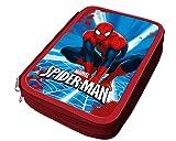 Atosa Trousse à Crayon garçon Spiderman 21x15, 33246