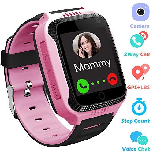 GPS Track Watch para niños - SmartWatch Phone con localizador GPS/LBS Cámara...