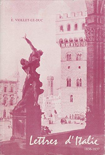 Lettres d'Italie 1836-1837 adressées à sa famille.