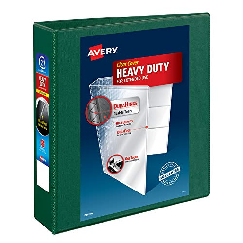Avery Heavy Duty 2,5cm One Touch EZD View Binder, 79199, weiß 1-Pack 2