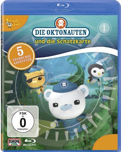 Vol. 1: Die Oktonauten und die Schatzsuche [Blu-ray]