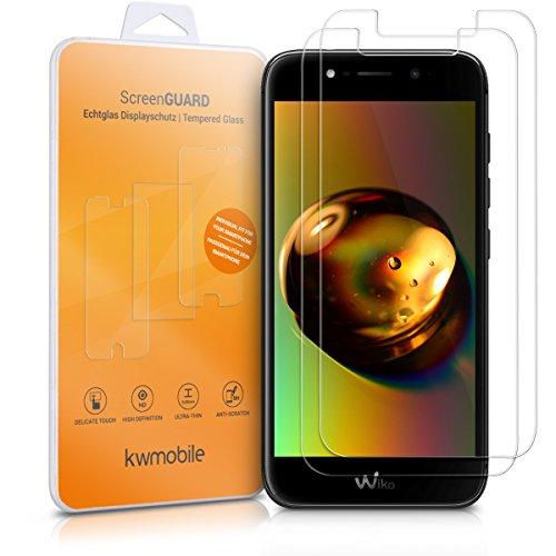 Kwmobile wiko wim lite 2x pellicola - protezione schermo in vetro per wiko wim lite - no bolle d'aria