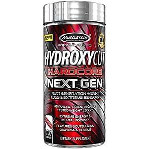 MuscleTech Hydroxycut Hardcore Next Gen - 100 Capsules