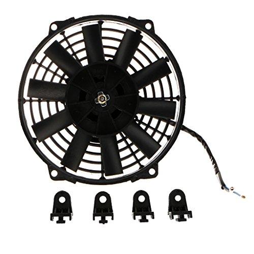 non-brand Sharplace 12V 80W Ventilador de Radiador Eléctrico Disipación de Calor de...