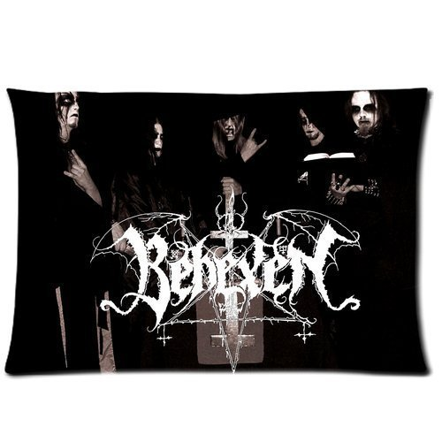 Custom BEHEXEN Pattern Printed Personalized Zippered Pillowcase/Copricuscini e federe Cover Pillow case/Copricuscini e federe Standard Size 20x30 (Twin sides)