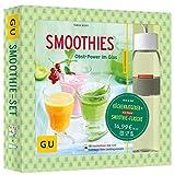 Smoothie-Set: Obst-Power im Glas und in der Flasche: Mit Rosti-Mepal-Trinkflasche (500 ml) (GU Buch plus)