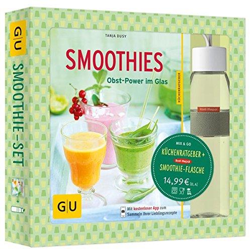 Smoothie-Set: Obst-Power im Glas und in der Flasche: Mit Rosti-Mepal-Trinkflasche (500 ml) (GU BuchPlus) Gesund Becher