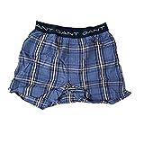 GANT Boxer Shorts Woven Cotton 416 Nightfall Blue (M)