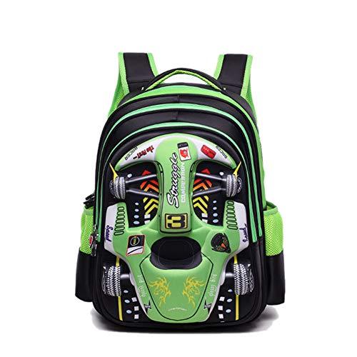 3D Car Racing Imprimir Mochila para La Escuela Infantil...