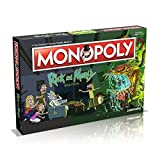 TruffleShuffle Rick and Morty Monopoly Game Set