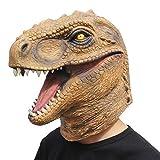CreepyParty Dinosauro della Maschera di Testa di Animale del Partito del Costume di Halloween della novità