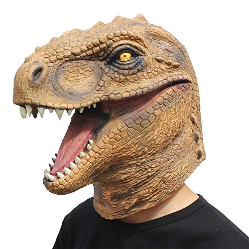 n Kostüm Party Tierkopf Latex Maske Dinosaurier ()