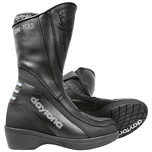 Daytona LADY EVOQUE GTX Damen Motorradstiefel Leder - schwarz Größe 38